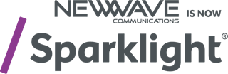 Newwave communications is now sparklight